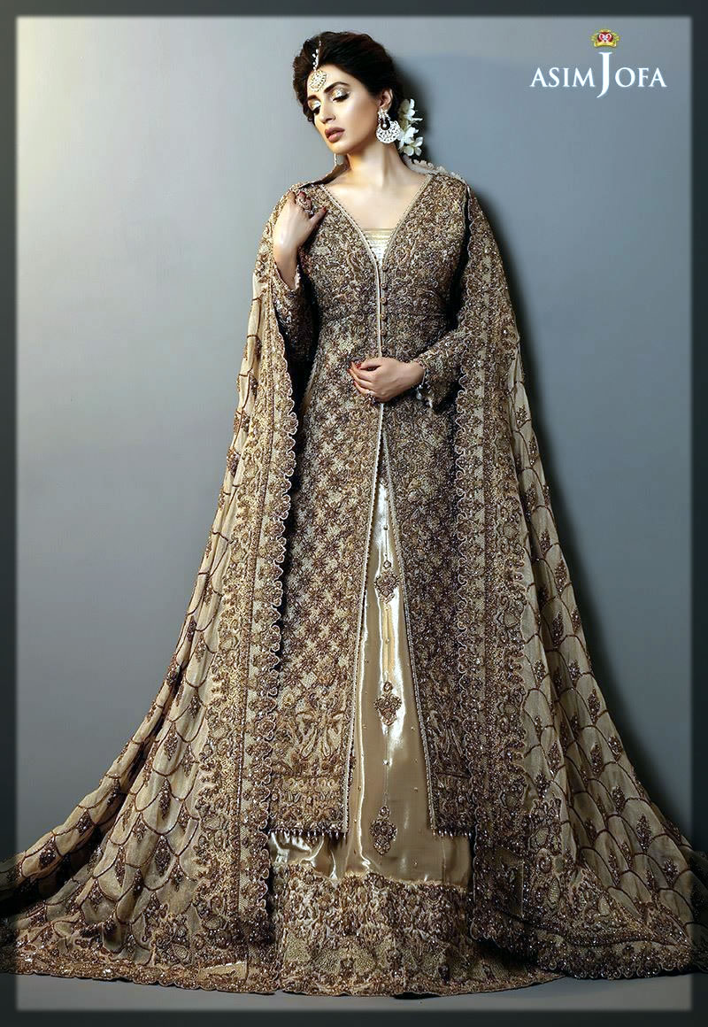 stunning and classy asim jofa bridal collection