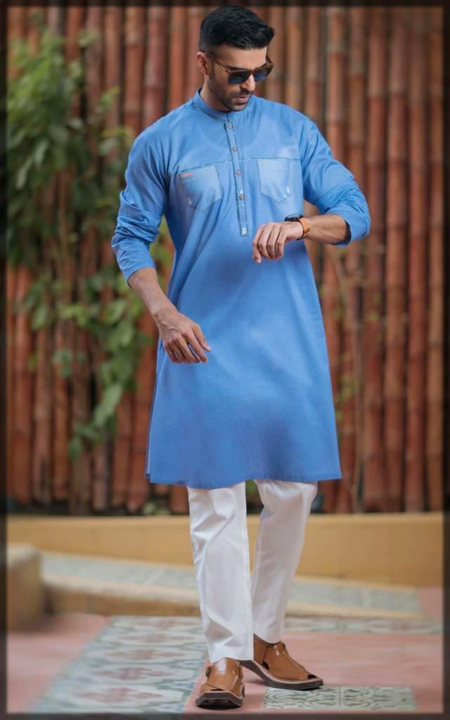 stunning digital denim attire