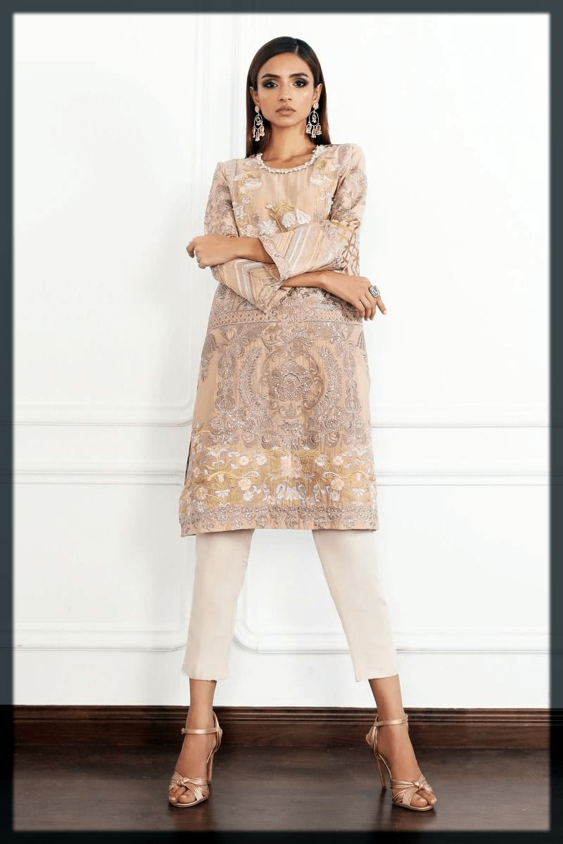 stunning short shirt with trouser eid dress