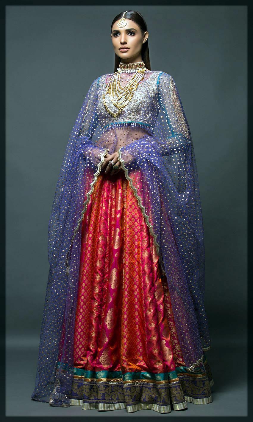 stunning walima dress by nomi ansari