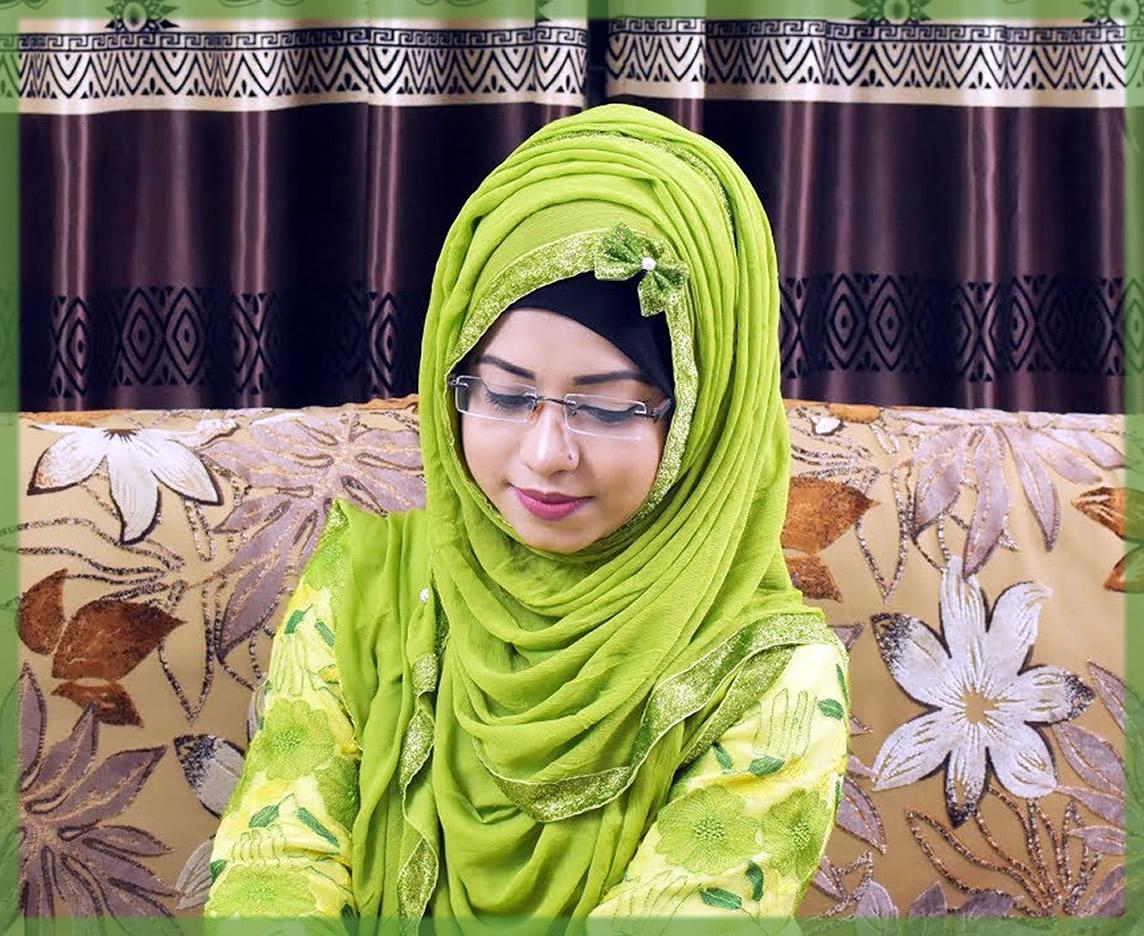 stylish Layered Hijab Styles for girls