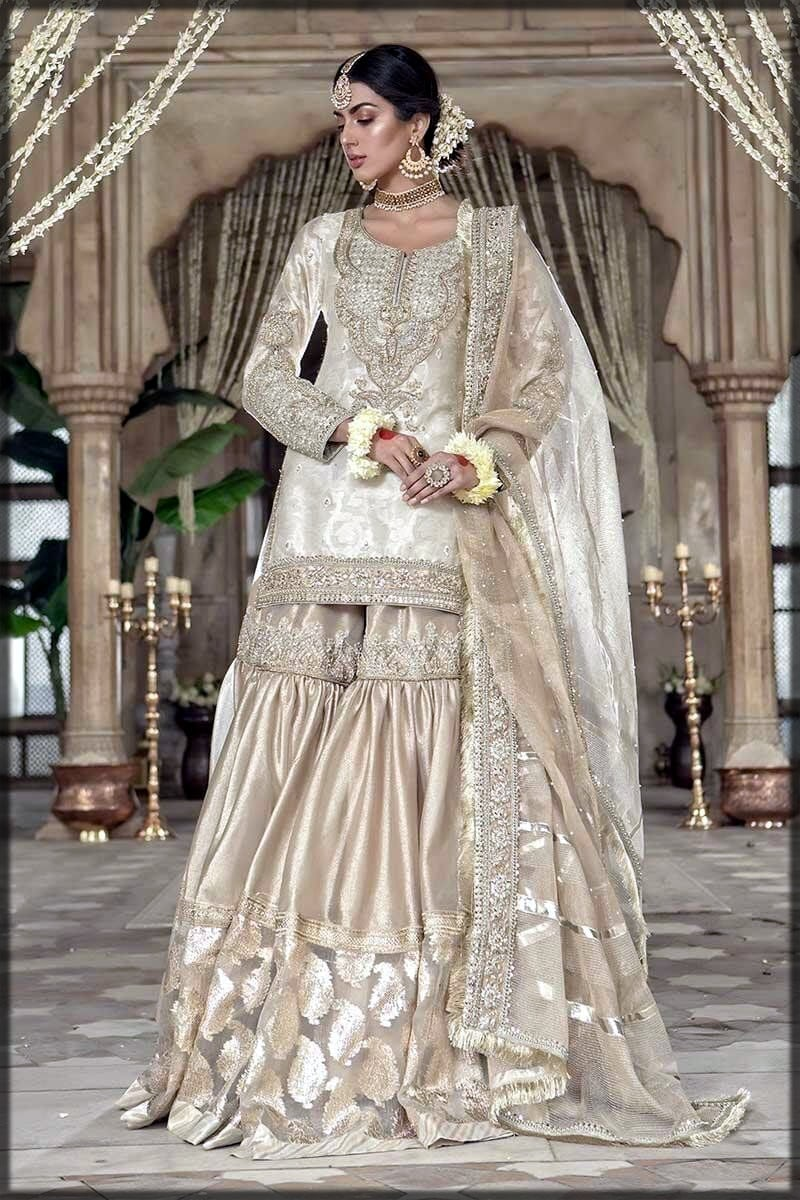 stylish gharara for brides