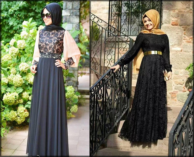 stylish net abayas