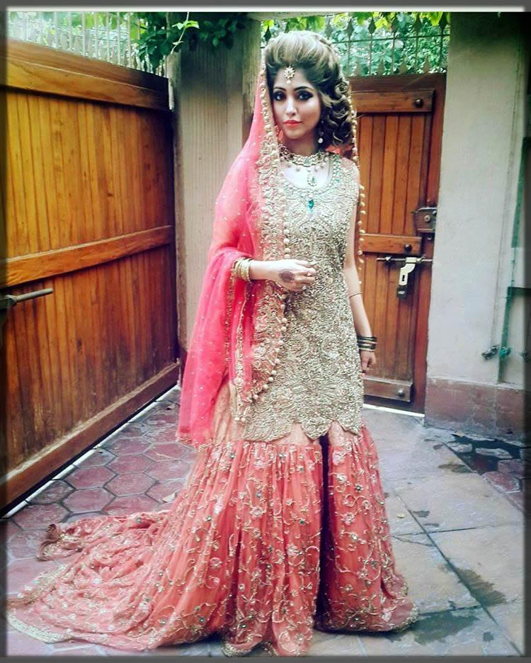stylish new bridal gharara