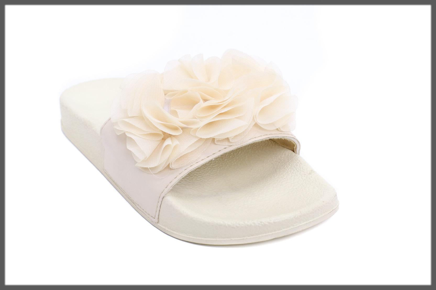 stylish off-white flip flop