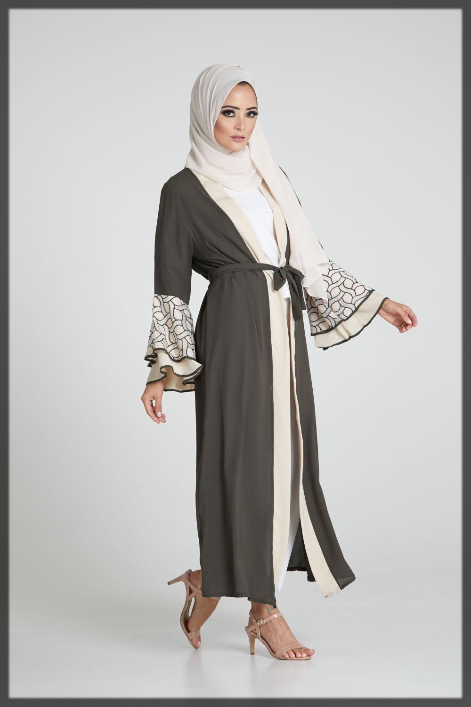 trendy designer abayas collection