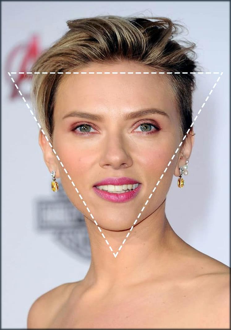 triangle face shape