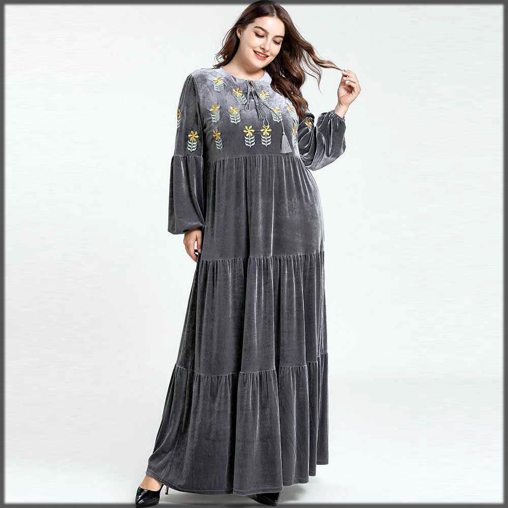velvet abaya for casual wear