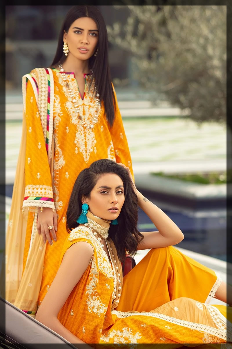 warm orange summer dress for women