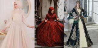 Designer Wedding Abaya Dresses with Hijab Styles for all Muslim Brides