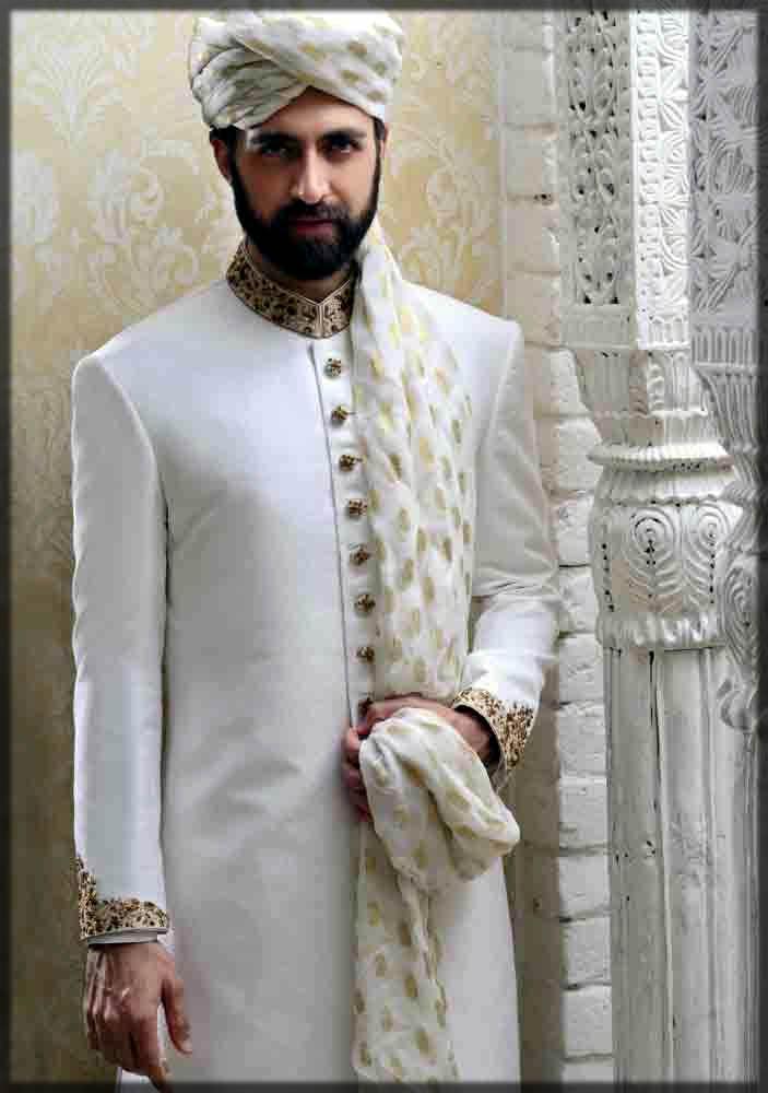 wedding dress for men on barat day