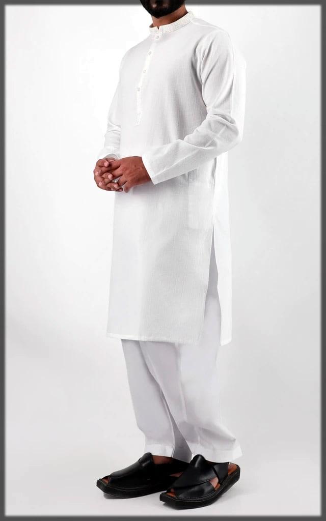 white new eid dress