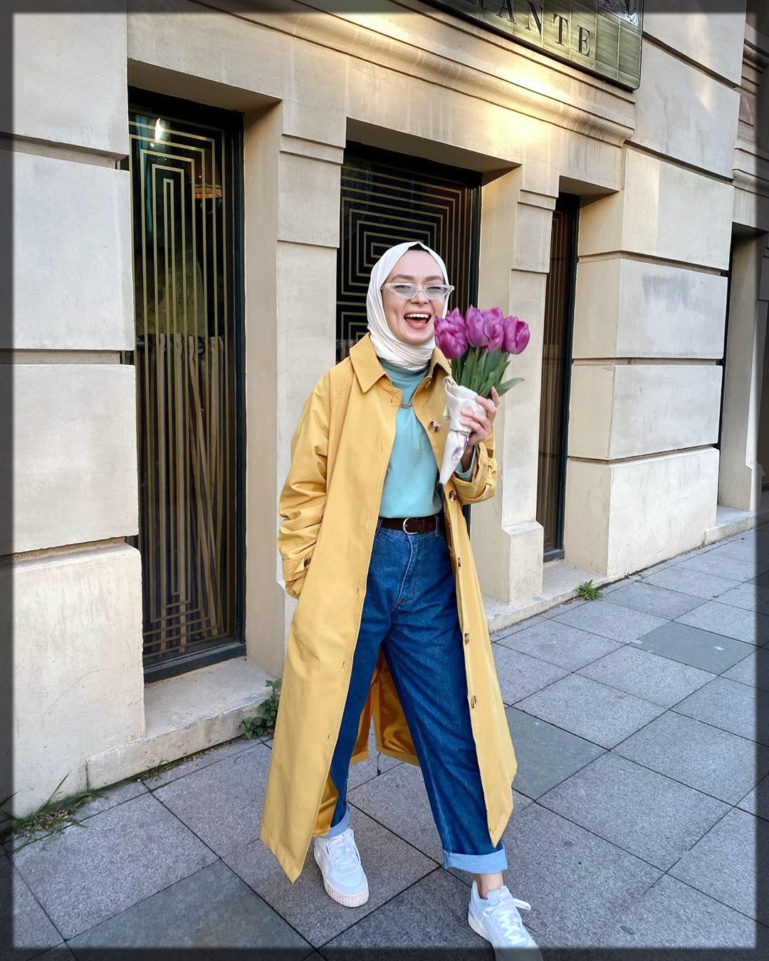 wide jeans trouser hijab sstyles