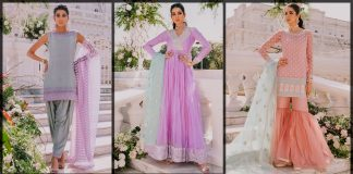 Zainab Chottani Eid Collection 2021 Pret Embroidered Dresses [Prices]