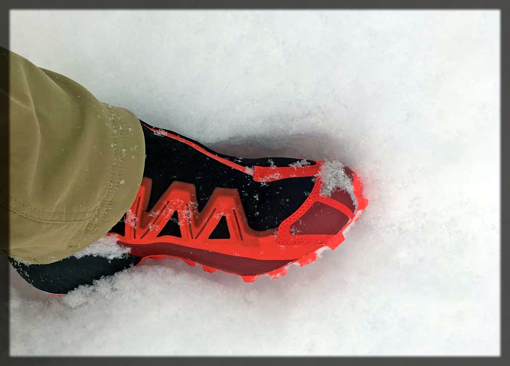 Athletic Shoes in Winter