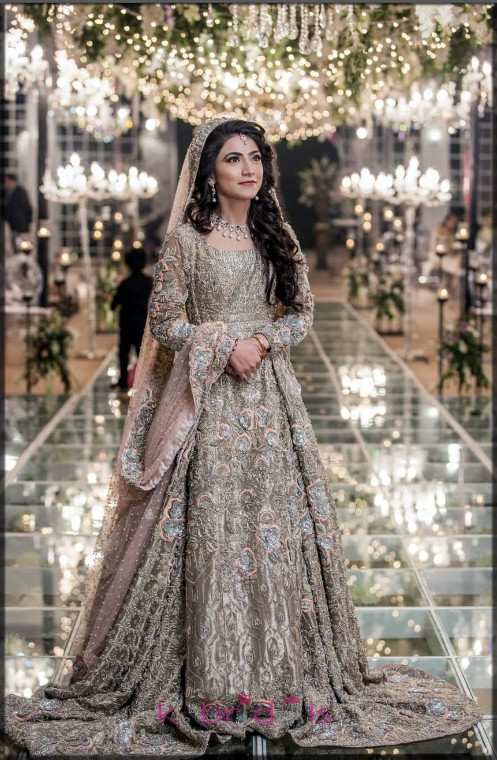 Barat day dress Pakistani wedding frocks