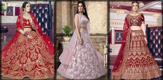 Indian Lehenga Choli Wedding Collection 2021 for South Asian Brides