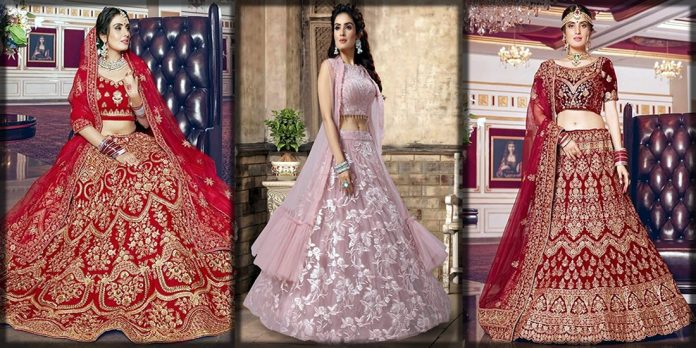 Beautiful Indian lehenga choli styles