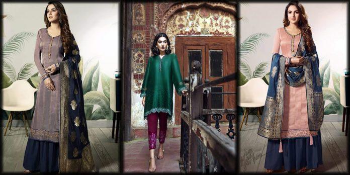 Beautiful Pakistani silk dresses