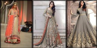 Pakistani Wedding Frocks Collection 2021 - Fancy Bridal Wear Frocks