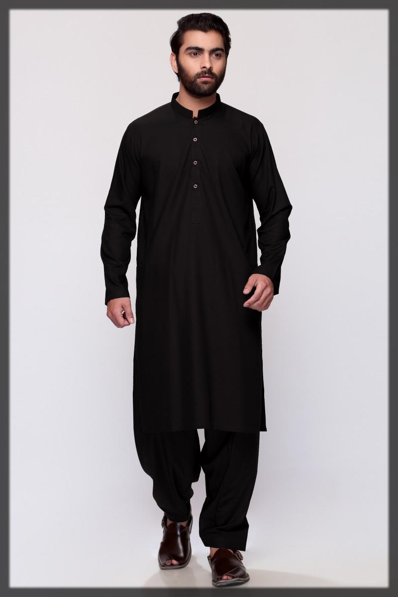 Black Gul Ahmed Kameez Shalwar
