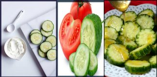 Best Cucumber and Tomato Face Packs for Spotless Crystal Clear Skin