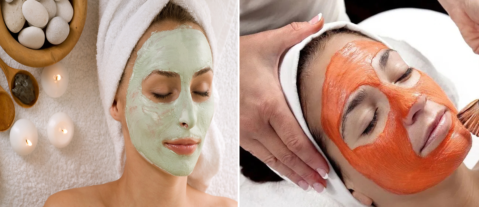 Cucumber And Tomato Face Packs For Crystal Clear Skin