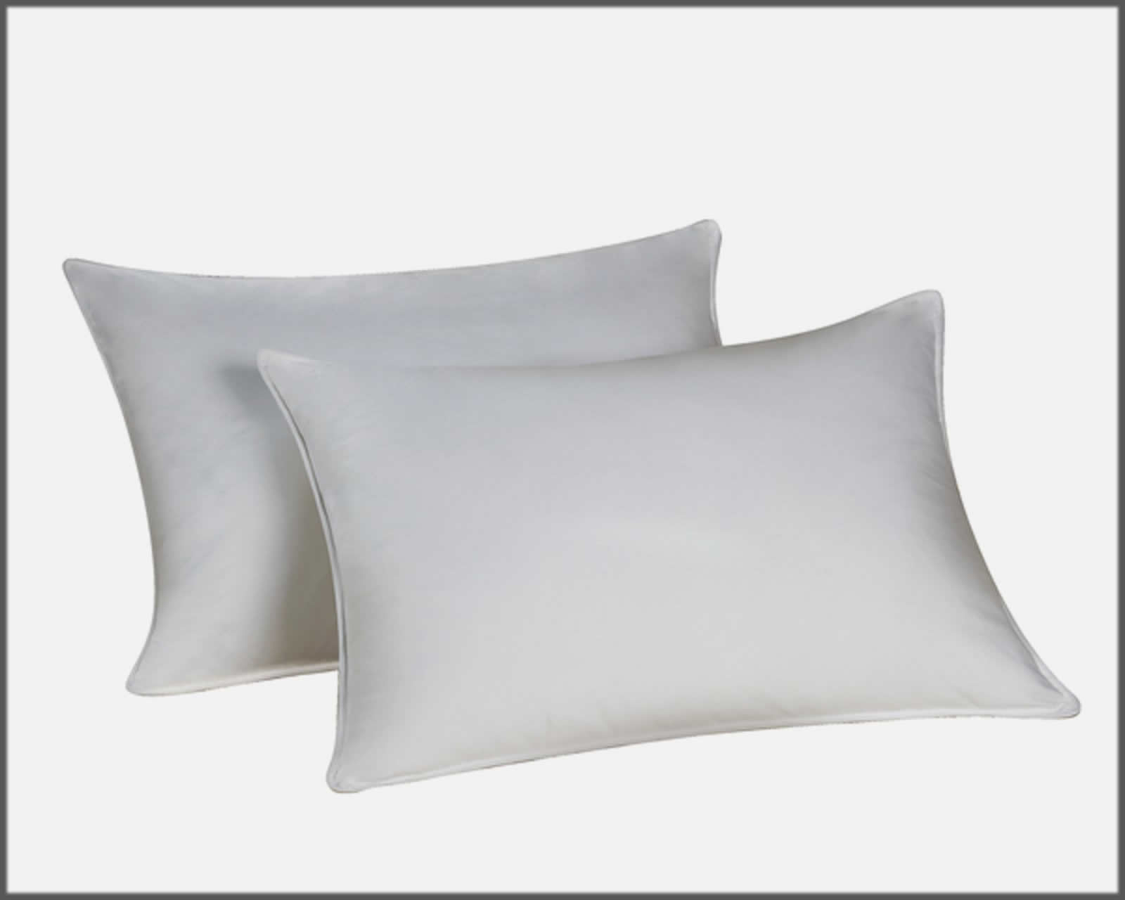 Elevated head with two pillows