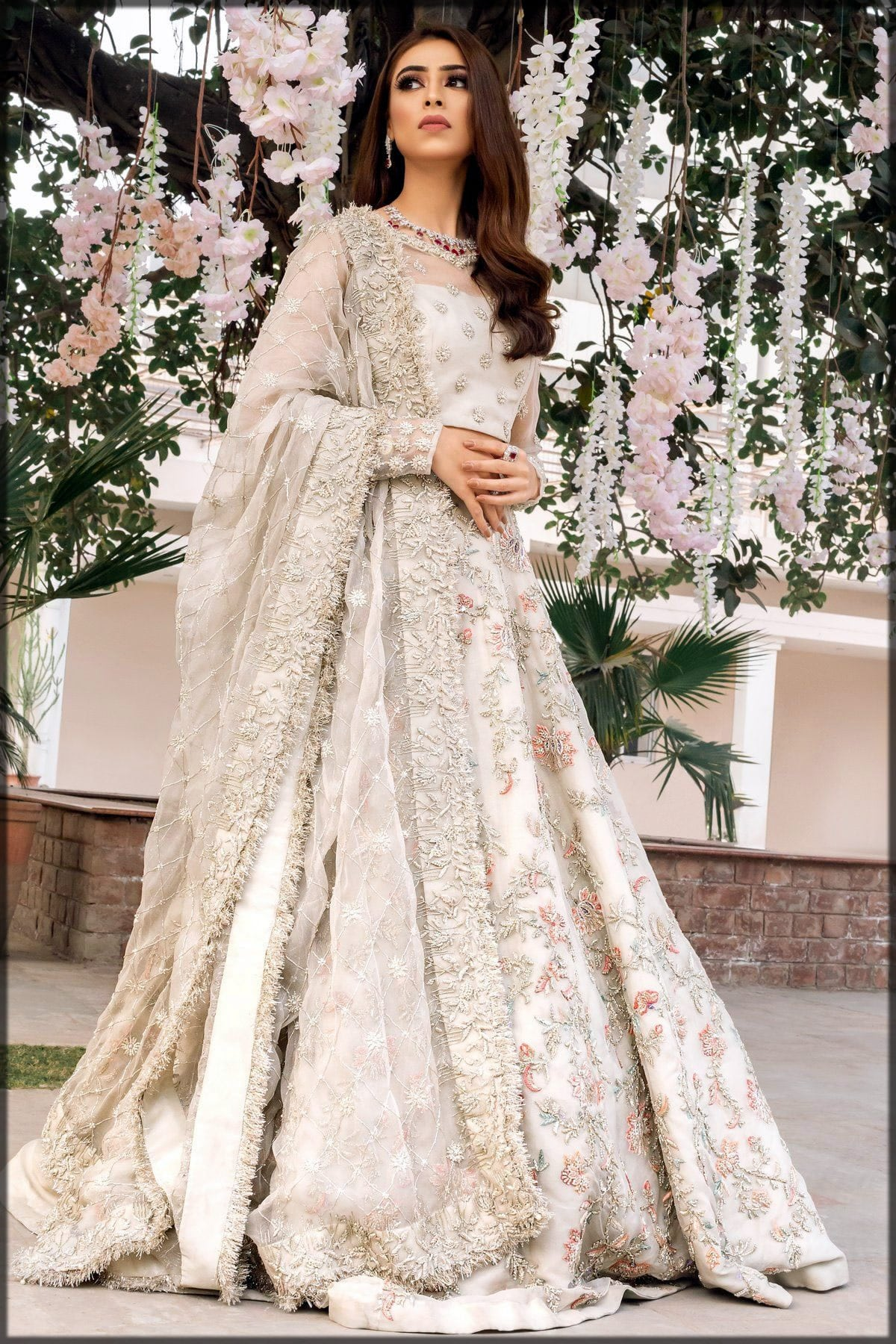 Pakistani wedding frock collection for engagement