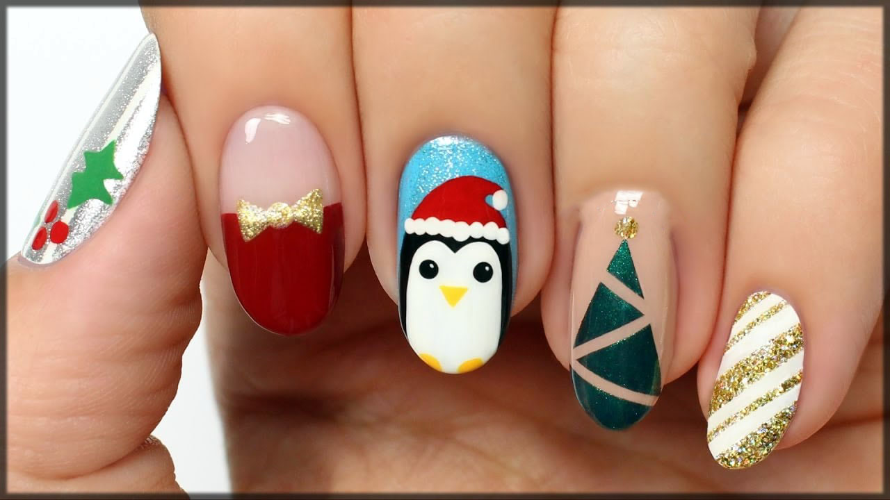 Five beautiful nail art for