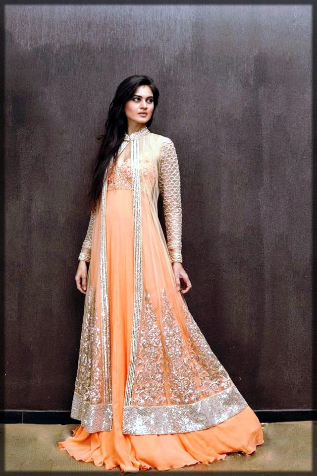 Front open double shirt for bridal wear
