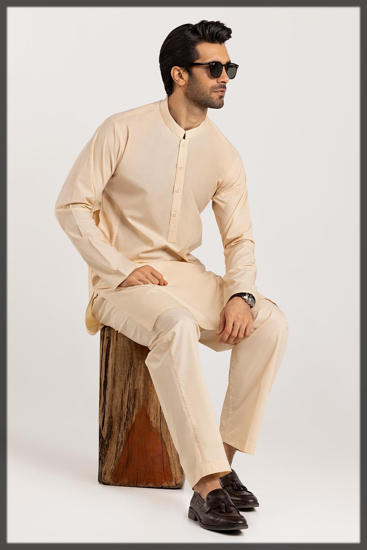 Gul Ahmed Shalwar Kameez Collection for Men