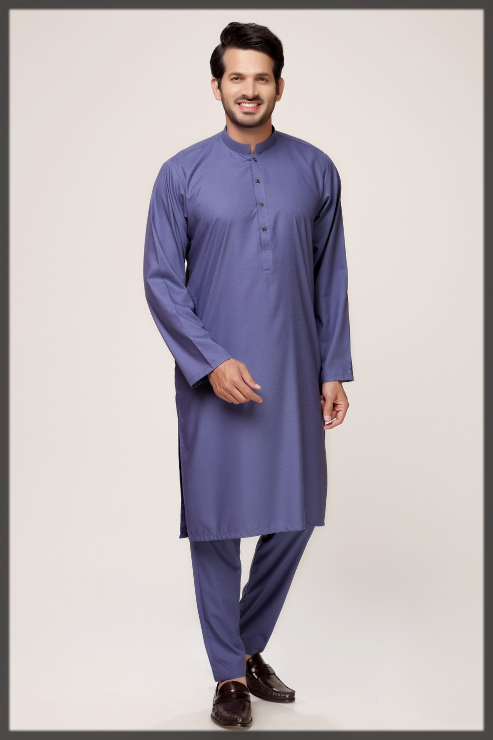 Gul Ahmed Shalwar Kameez Collection in royal blue hues