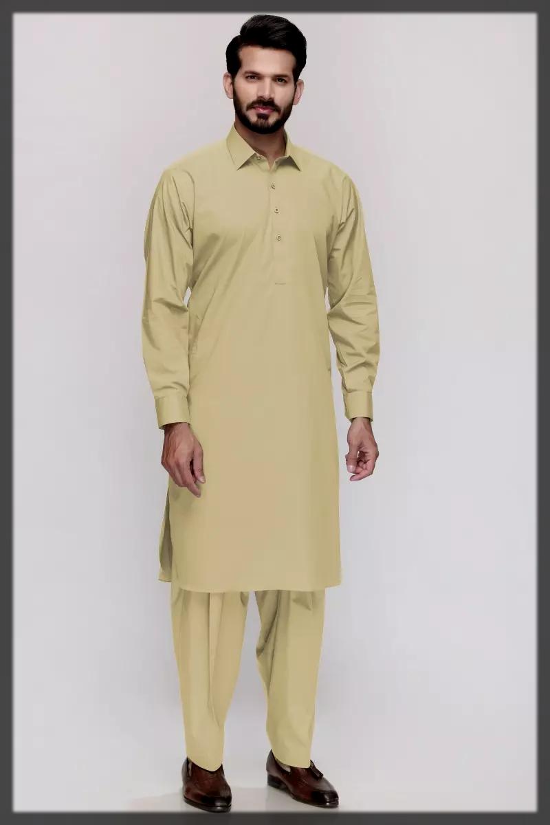 Gul Ahmed Shalwar Kameez Suits for men
