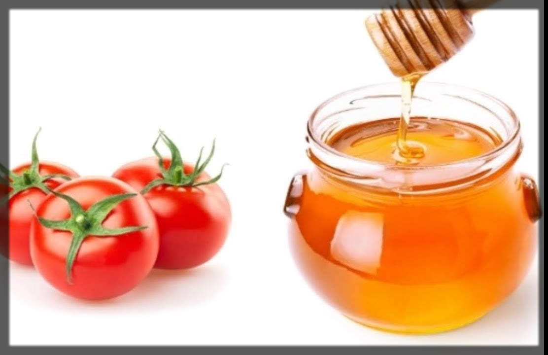 Honey And Tomato Face Pack