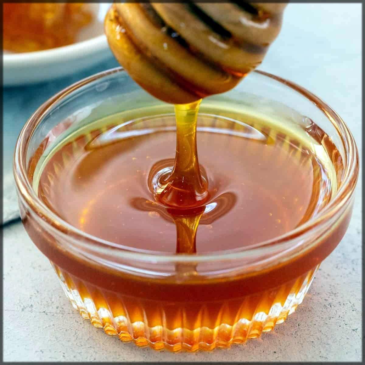 Honey mask for skin