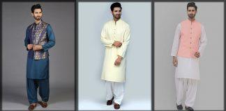 Amir Adnan Kurta Collection 2021 for Men with Waistcoat Combination