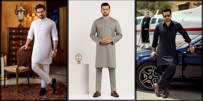 Latest Gul Ahmed Shalwar Kameez Collection for Men and Boys