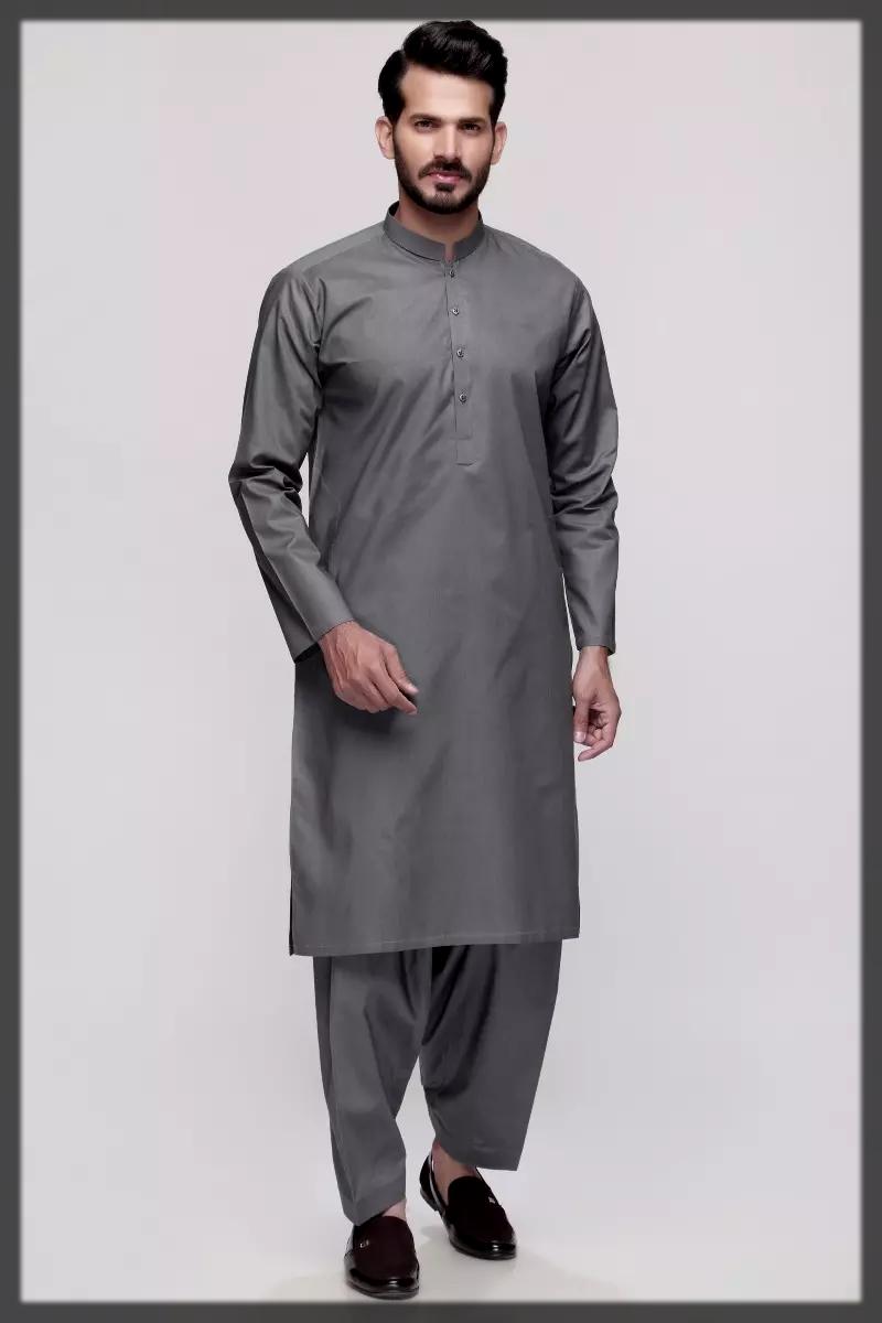 Latest Gul Ahmed Shalwar Kameez Suits for men