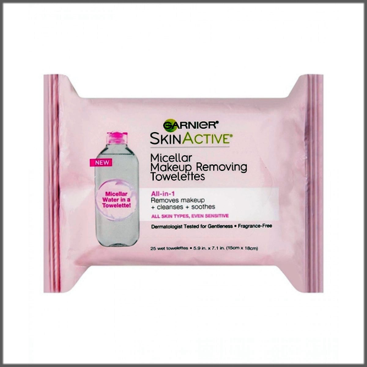 Makeup remover wipes reduce eye bags