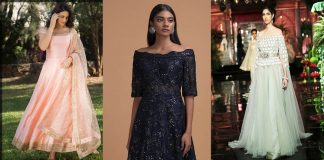 Off-The-Shoulder Dresses 2021 New Fashion in Pakistan for Stylish Girls