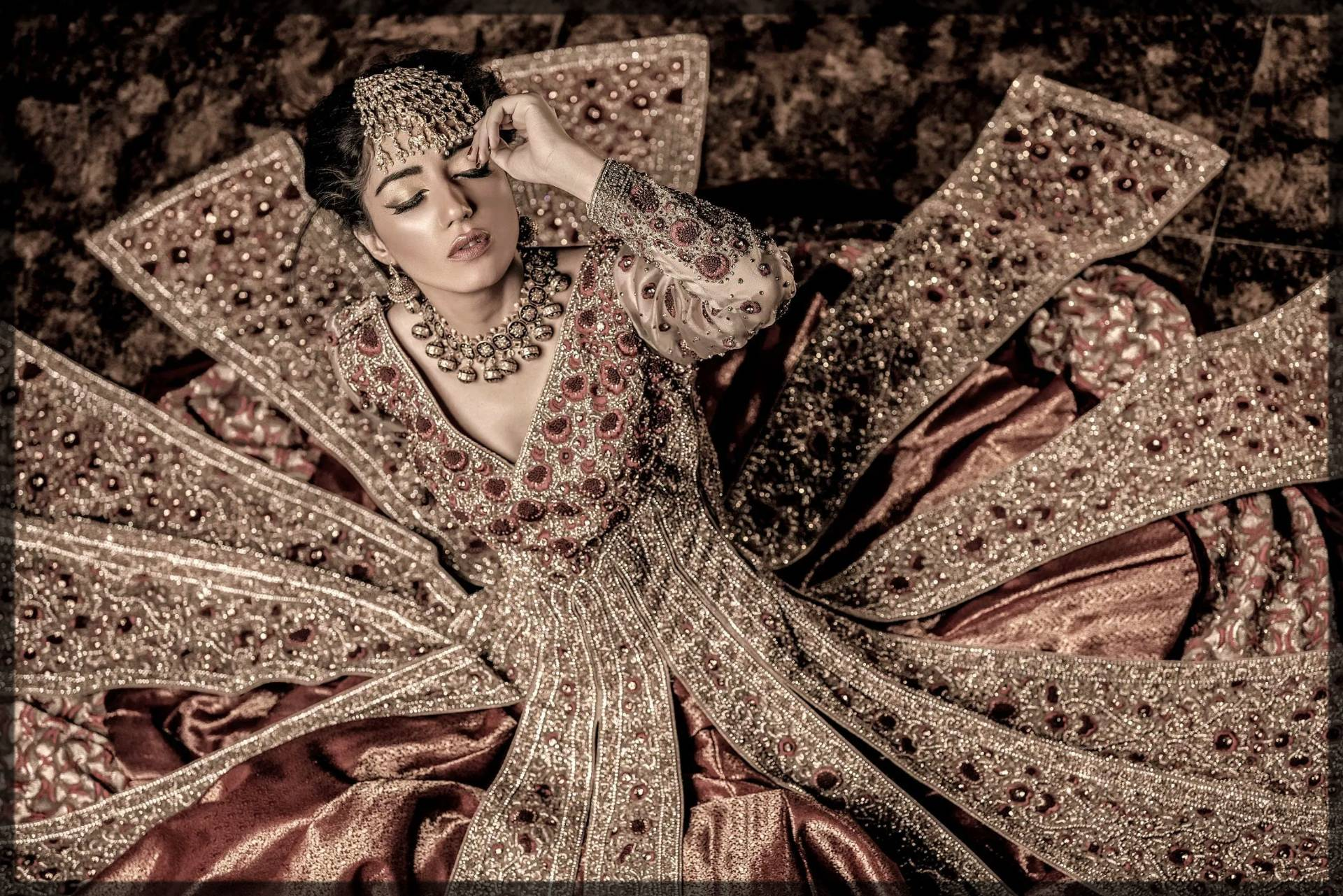 Parizae bridal collection by ahmad sultan