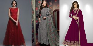 Trendy Long Frocks for Ladies 2020 - Casual and Wedding wear Collection