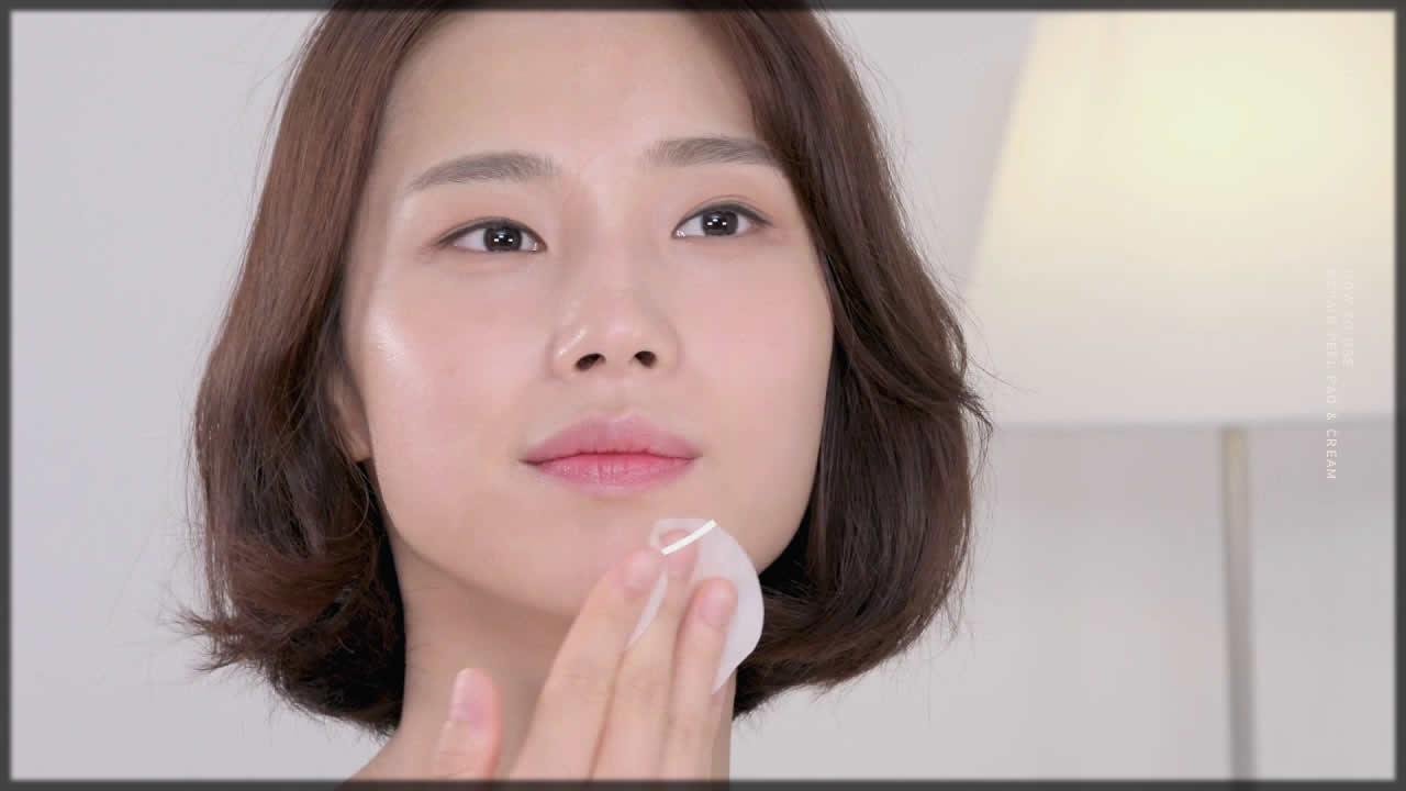 Peel pad for skin