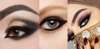 Dramatic Arabic Eye Makeup Tutorial with Detailed Steps and Looks