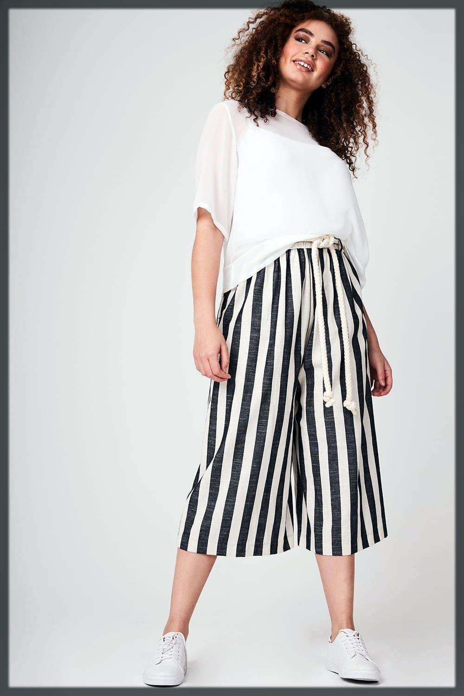 Summer Shorts Shirts With Palazzo Pants Look