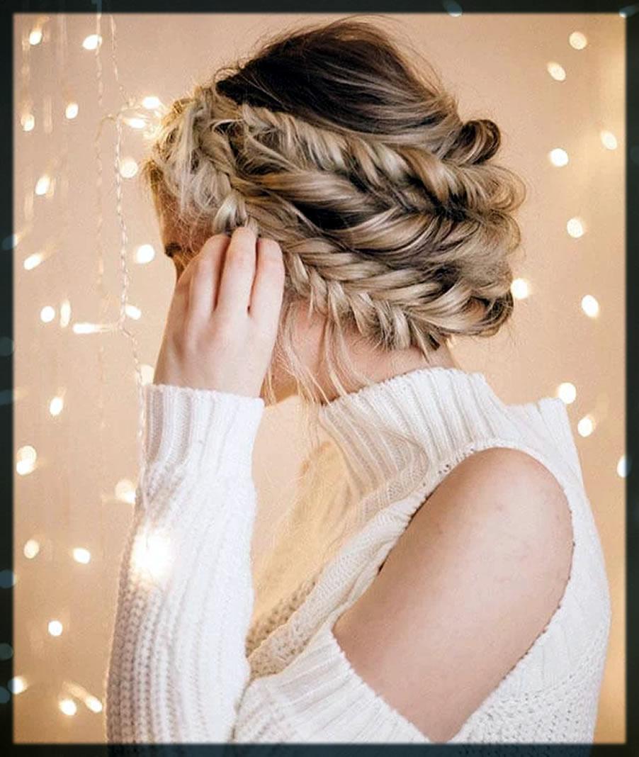 Twist Braid Winter Hairstyles For Women