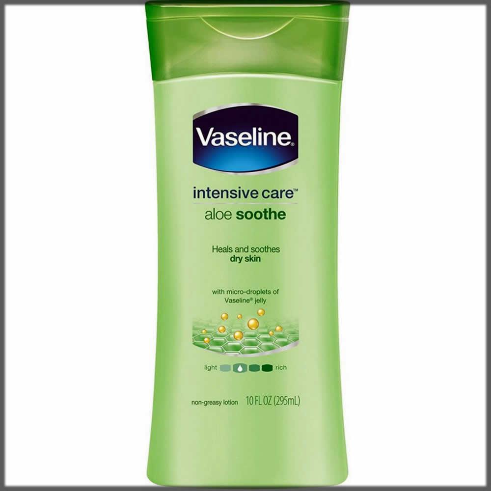 Vaseline lotion for skin