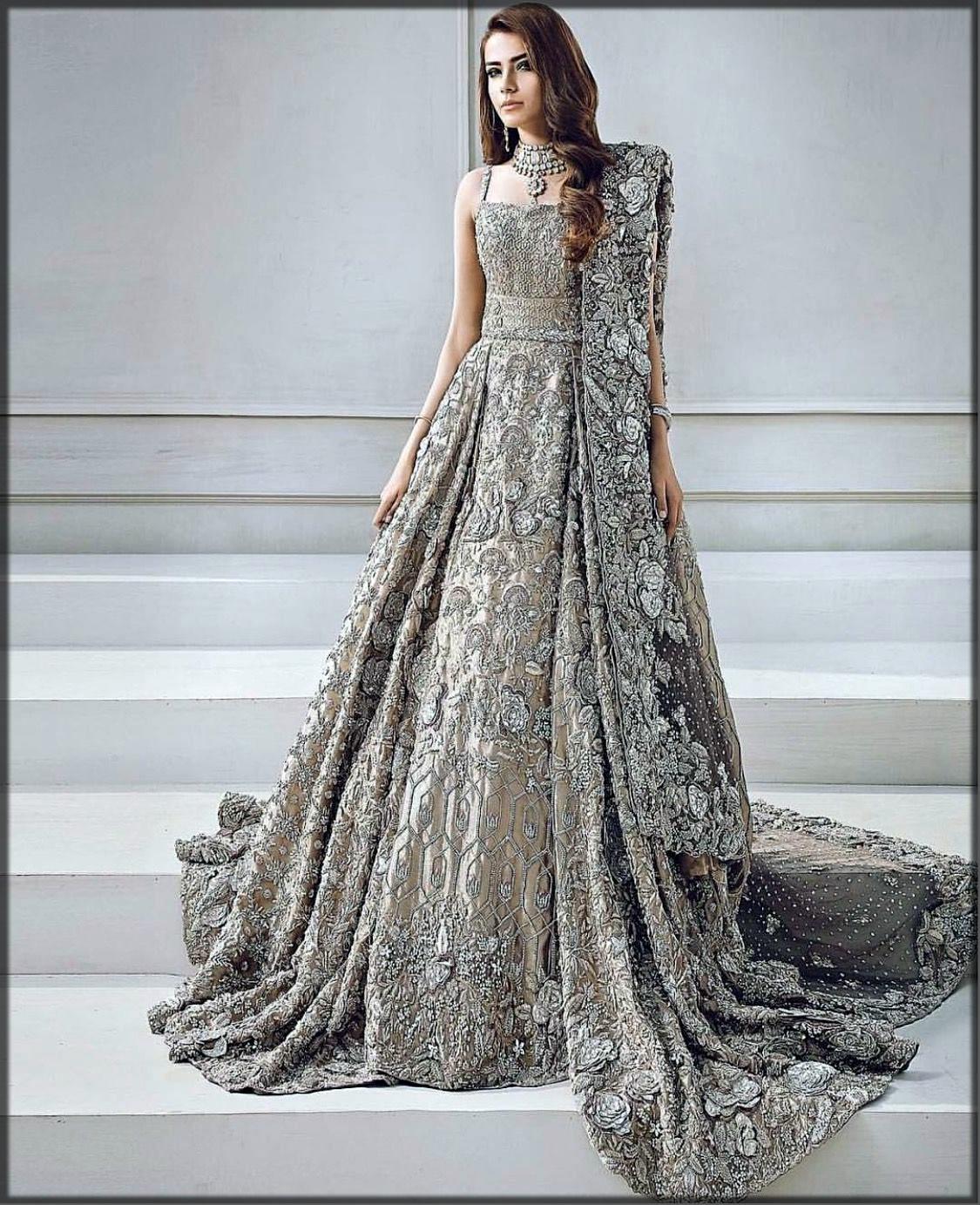 Walima bridal frock