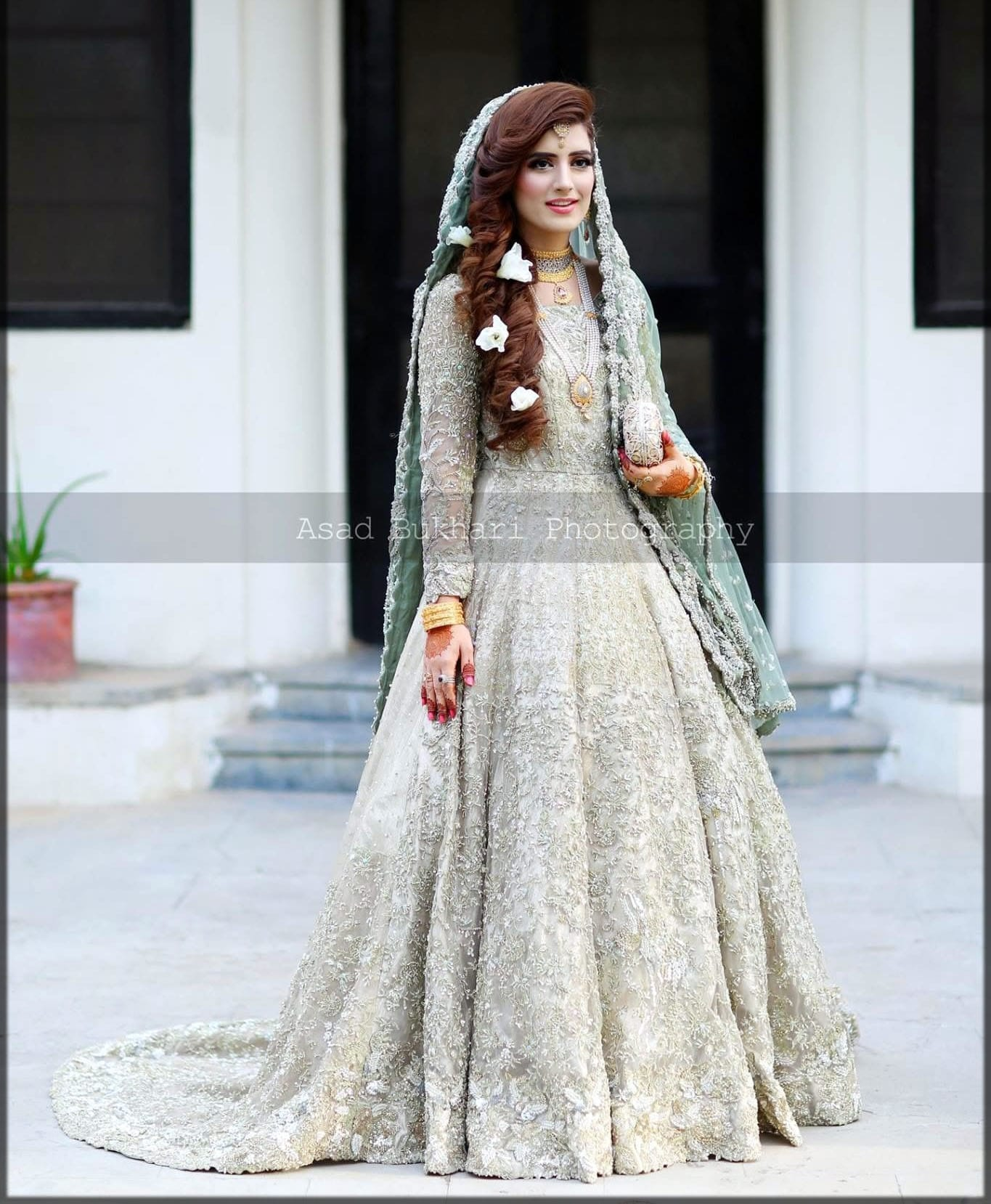 Walima frock for brides